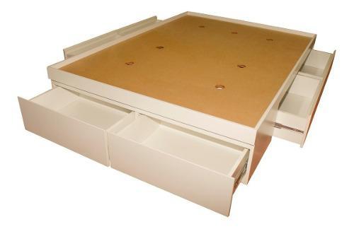 Cama box seis cajones mueble de melamina