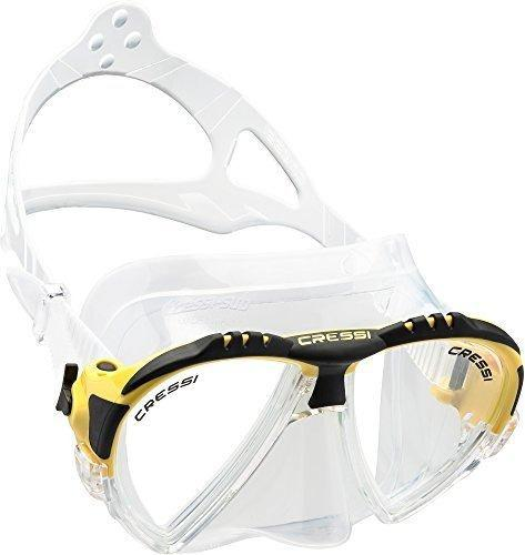 Cressi matrix premium mascara de buceo con funda tambien con