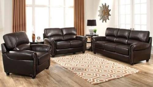 Juego de sala en perfecto estado - muebles de sala