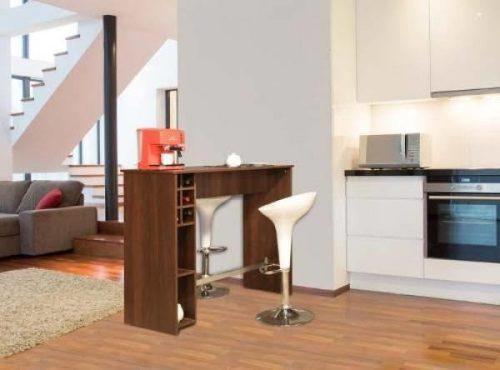 Mesa barra moderna minimalista mueble de melamina