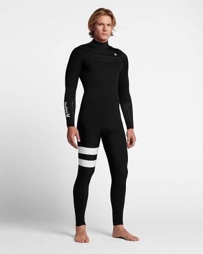 Wetsuit hurley advantage elite 4/3mm nuevo - talla ms