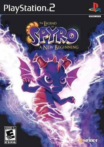 Legend Of Spyro Un Nuevo Comienzo Playstation 2