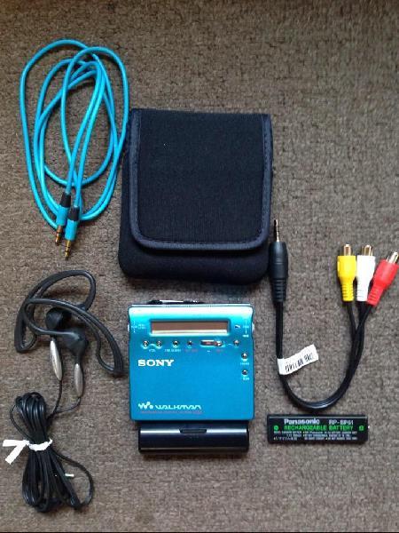 Minidisc sony mzr900 mdlp 9.5 de