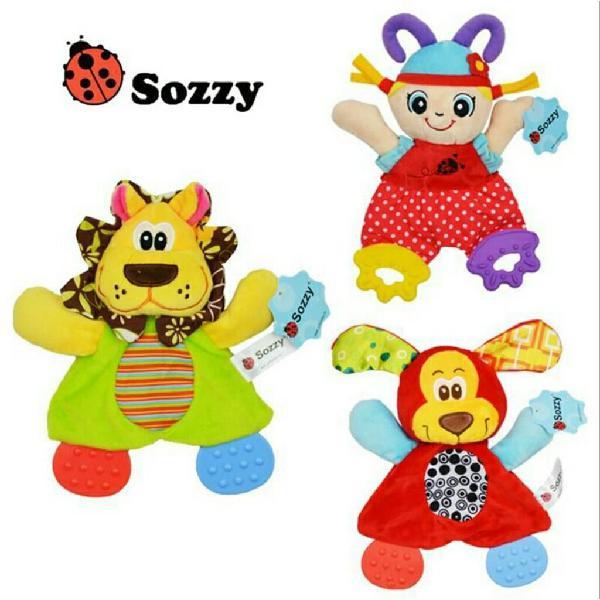 Muñecos de estimulacion texturas bebes