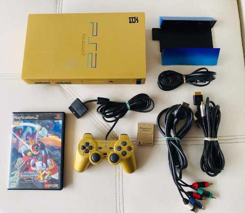 Playstation 2 Fat Dorada Scph-55000 Gu - Edición:gundam