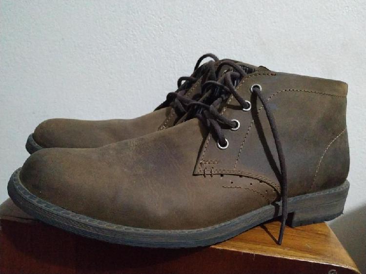 Zapato nuevo original para hombre weinbrenner cuero textil