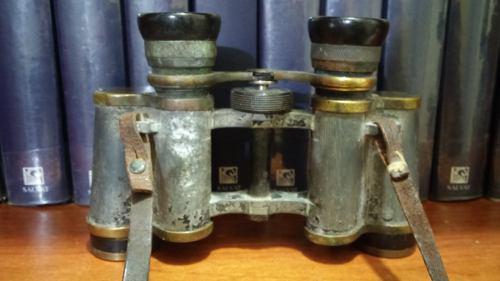 Antiguo colec. binocular voiglander braunschweig