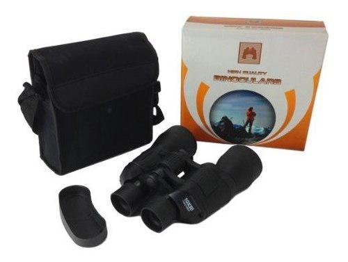 Binoculares 10 x 50 w caja de transporte sporting caza sende