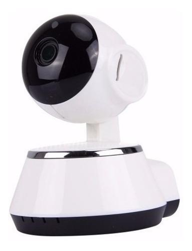 Cámara inálambrica seguridad giratoria wifi hd 720p v380