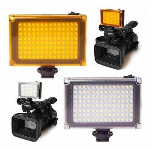 Panel led reflector de luces de 96 leds camara filmadoras