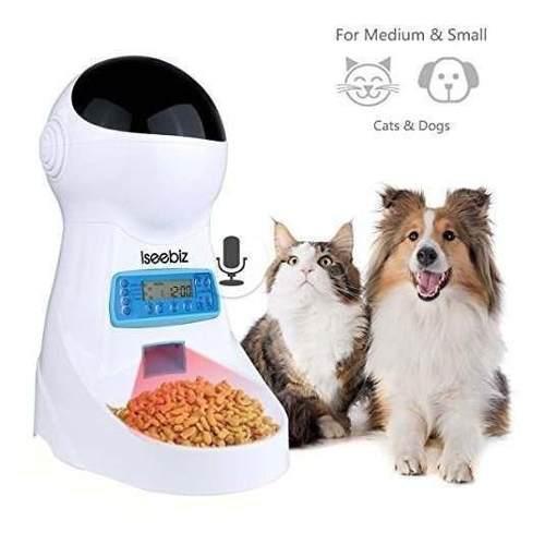 Perros alimentadores automaticos gatos dispensador de alimen