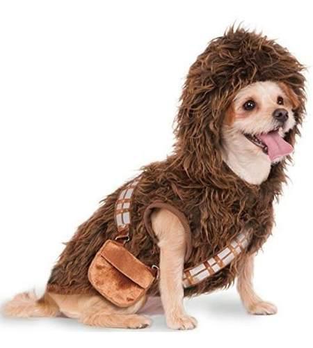 Ropa para perros chewbacca star wars talla medium