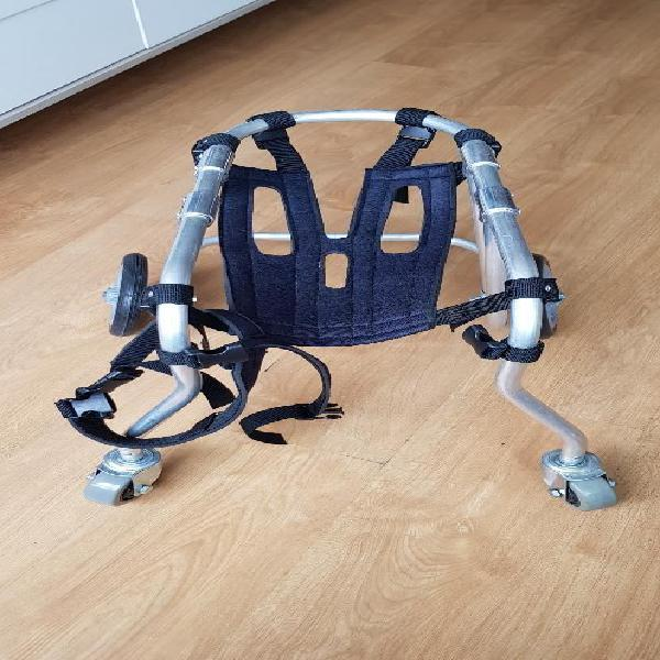 Silla de ruedas perro mediano