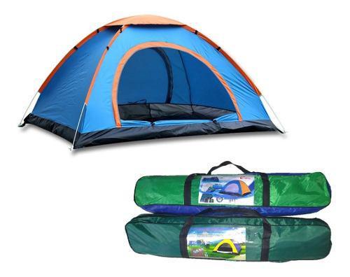 Carpa tipo iglu camping, viajes para 3 personas + delivery