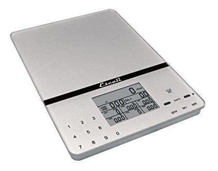 Escali 115ns rastreador nutricional portatil balanza digital