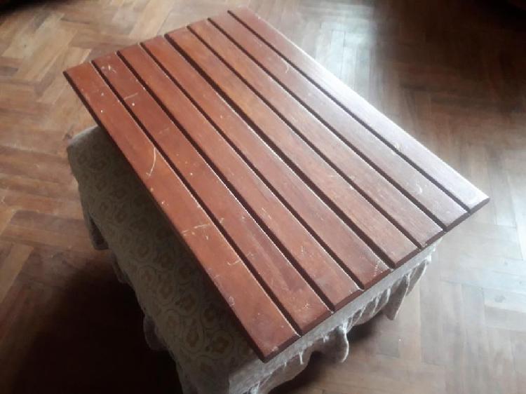 Mesa plegable multiuso de madera para comer alimentacion