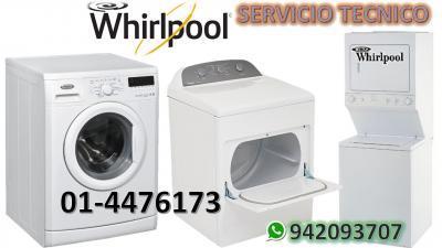 Servicio tecnico lavadoras secadoras whirlpool 014476173