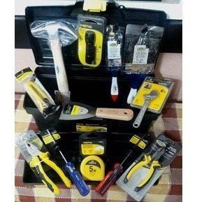 Set x 13 herramientas para el hogar pretul / c&a - negra