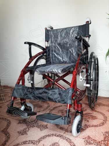 Silla de ruedas full aluminio de lujo. mod.americano