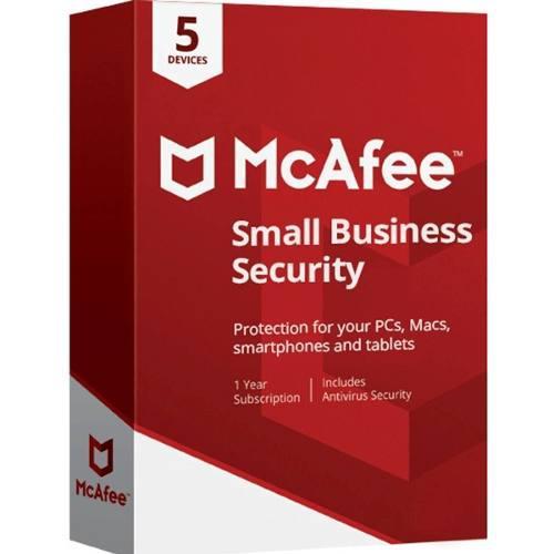 Antivirus Mcafee Small Business Security Por 3años Para