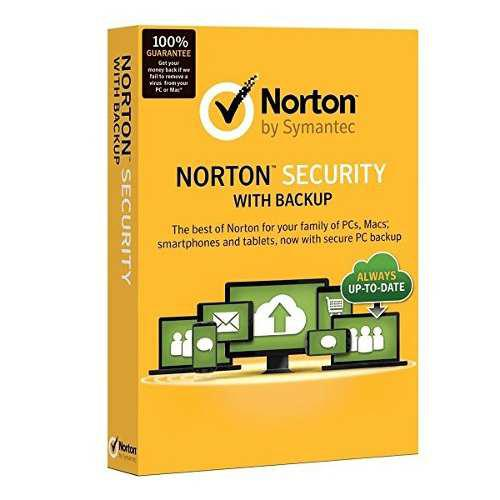 Antivirus Norton Security With Backup | 10 Pcs | 2 Años