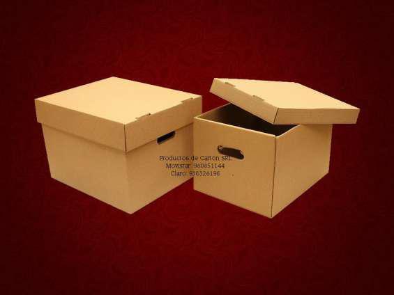 Cajas de cartón y carton corrugado. en lima