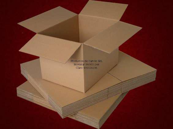 Cajas de carton y carton corrugado en lima