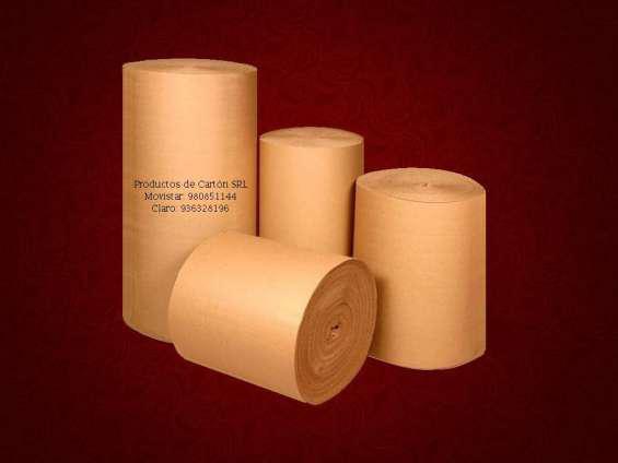 Carton corrugado en rollos en lima