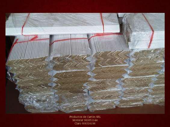 Esquineros de cartón en lima