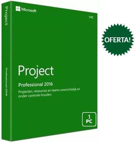 Licencia project professional 2016 32/64 bit original - 1 pc