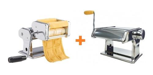Maquina Para Hacer Pastas + Raviolera Ravioles + Laminadora