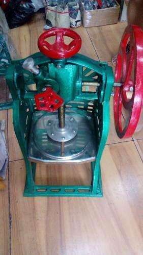 Maquina raspadillera manual nuevas