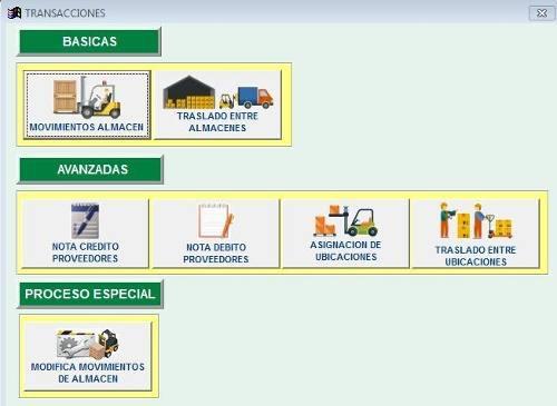 Software para gestión de almacén con formato sunat