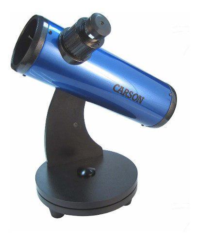 Telescopio reflector carson skyseeker newtonian con montura