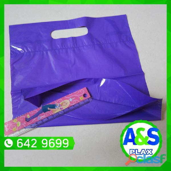 Bolsas con pliegues   a&s plax