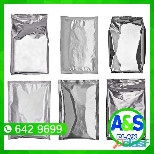 Bolsas de aluminio   a&s plax