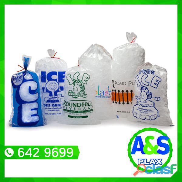 Bolsas para hielo   a&s plax