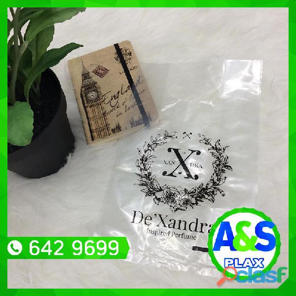 Bolsas transparentes biodegradables   a&s plax