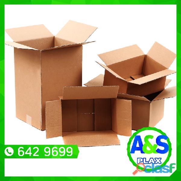 Cajas de Carton   A&S PLAX