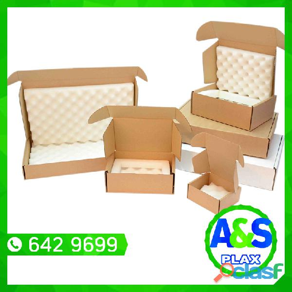 Cajas de Carton   A&S PLAX 3