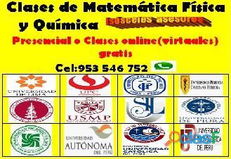 Profesor de Matemática , Física y Química línea (virtual) aprendizaje garantizado cel 953546752 4