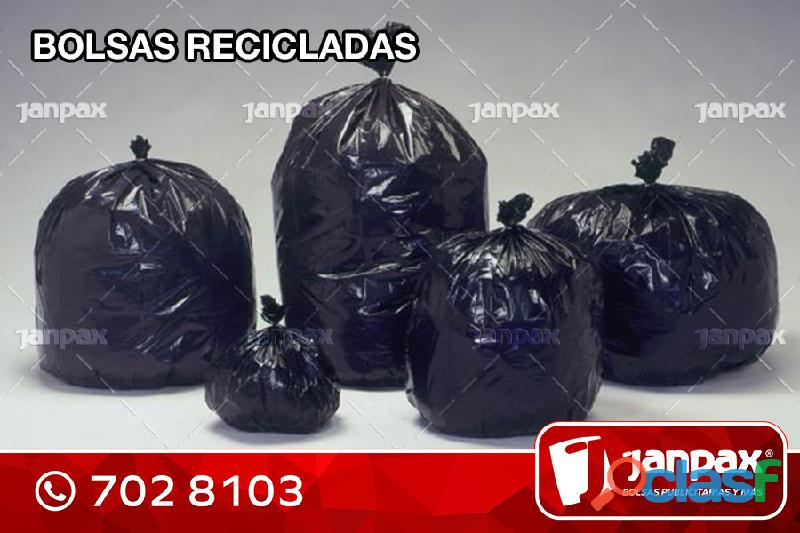 Bolsas recicladas   janpax