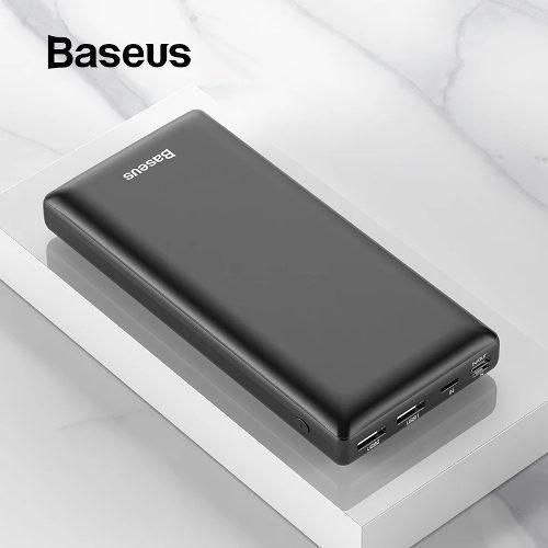 Bateria Baseus 30 000?mah Power Bank Xiaomi Negro