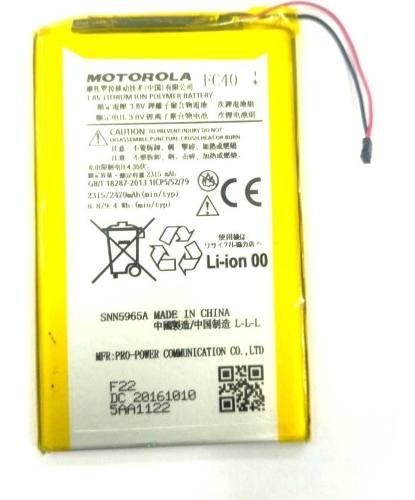 Bateria Motorola Fc40 Moto 3g Xt1548 Xt1540 Xt1542