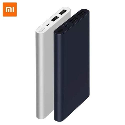 Bateria Power Bank Portátil Xiaomi 10000 Mah - Negro