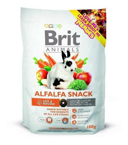 Brit Animals Alfalfa Snack For Rodents 100gr - Roedores