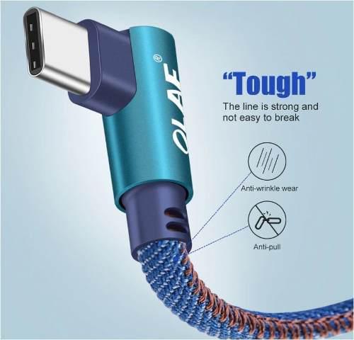Cable Tipo C 90 Grados De Carga Rápida Celulara