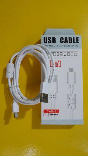 Cable Usb Celular Android Micro Usb Carga Y Datos