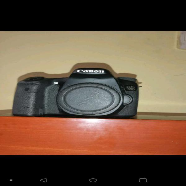 Canon 70D +lentes de 85 mm y 50 mm