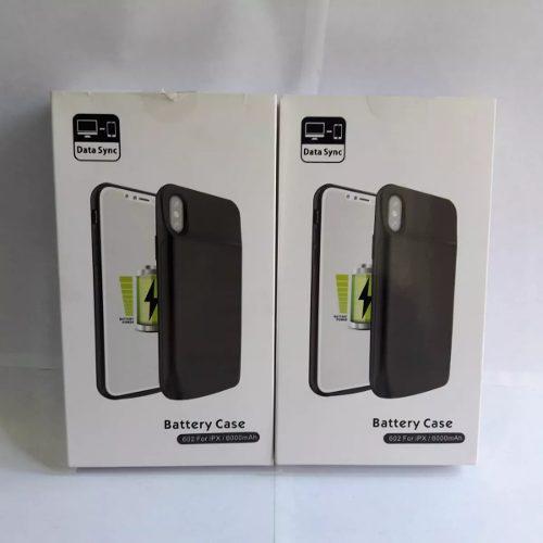 Case Batería Cargador iPhone X 6000mah 140% Extra Garantia